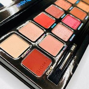 BNIB Sigma Warm Neutrals Eyeshadow Palette!!Gorg!…